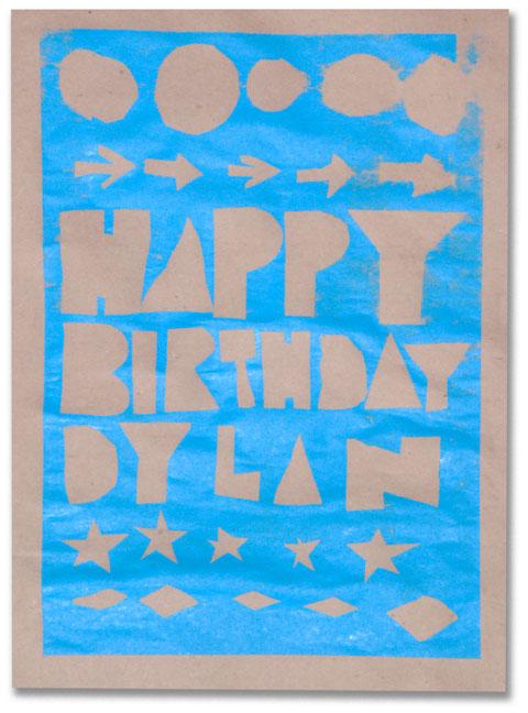 Happy Birthday Dylan Poster