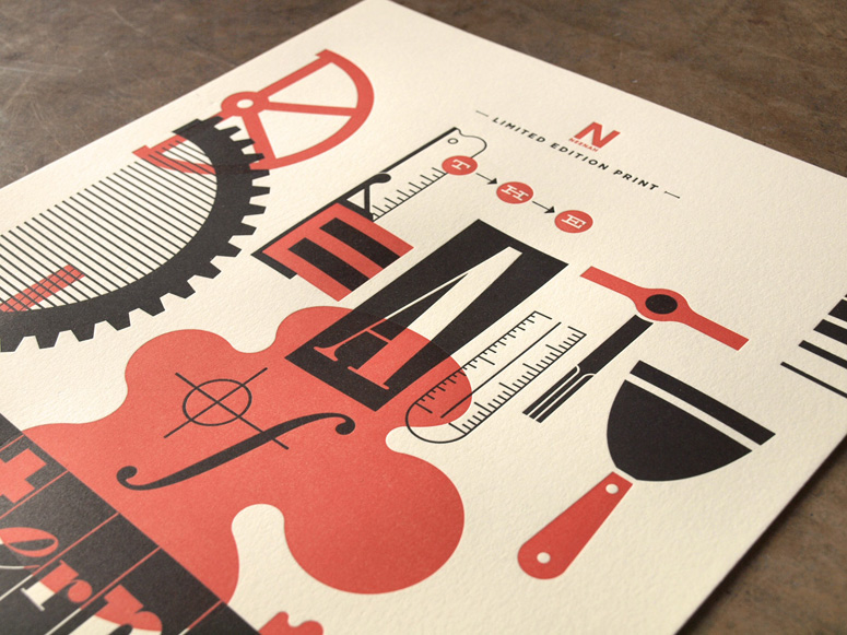 FPO: Beauty of Letterpress Print, Edition 13