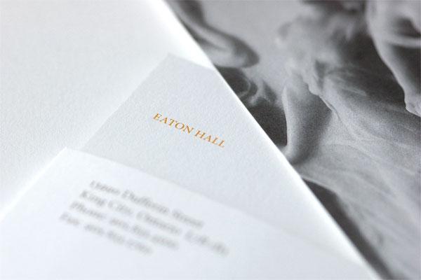 Eaton Hall Welcome Kit