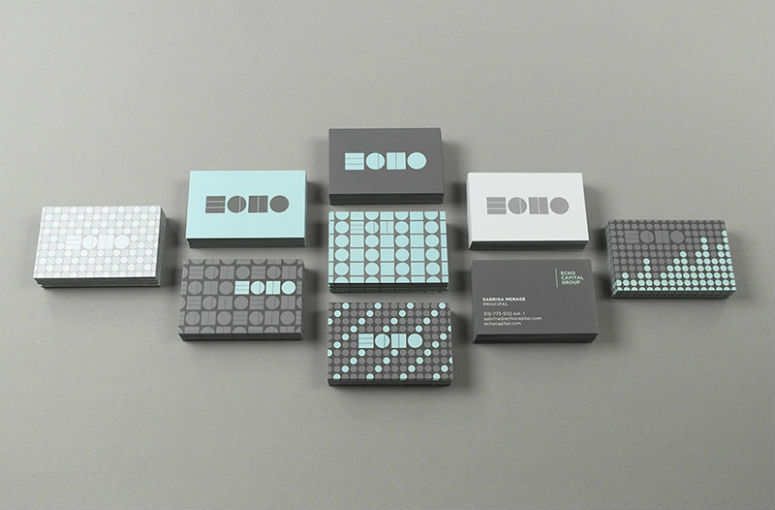 Echo Capital Group Business Cards & Stationery
