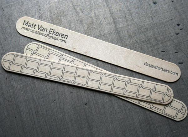 Matt Van Ekeren Business Cards