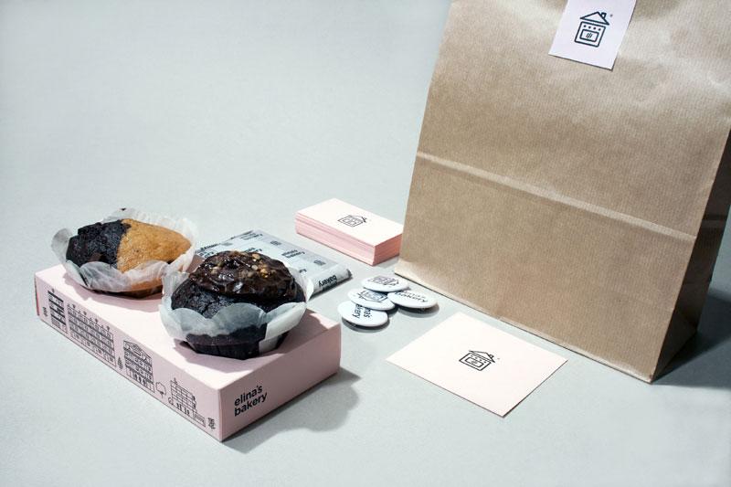 Elina's Bakery Corporate Identity