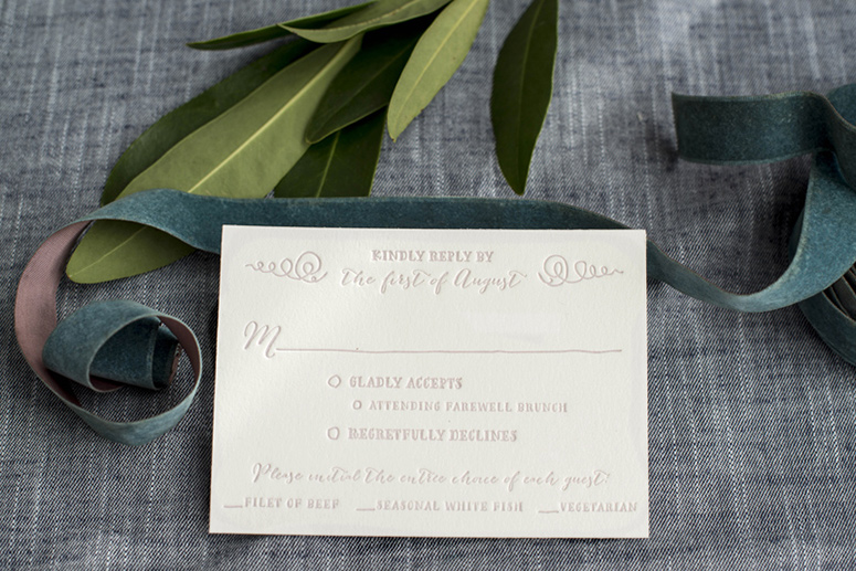 Ella Wedding Invitation