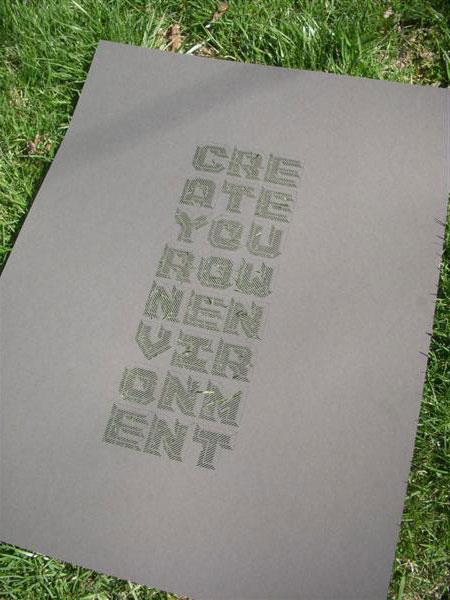 Create Your Own Environment Poster