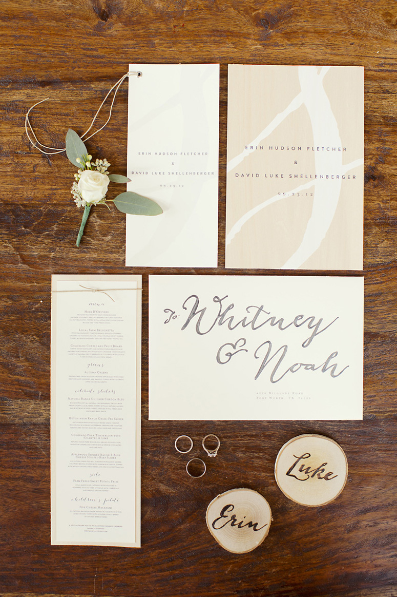 Erin & Luke's Wedding Materials