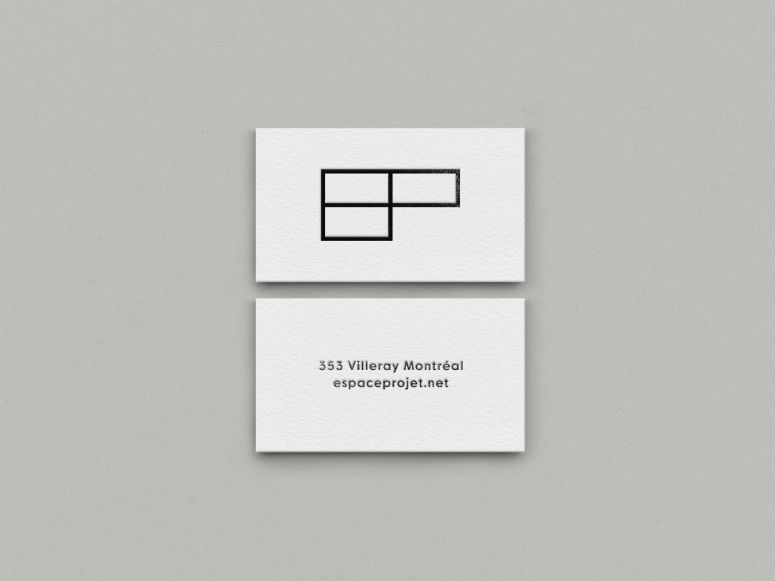 Espace Projet Gallery Identity Materials and Signage
