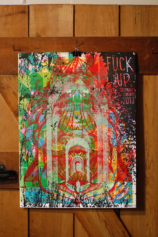 Fuck Up Poster