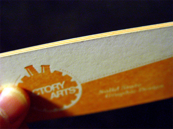 Factory Arts Business Card