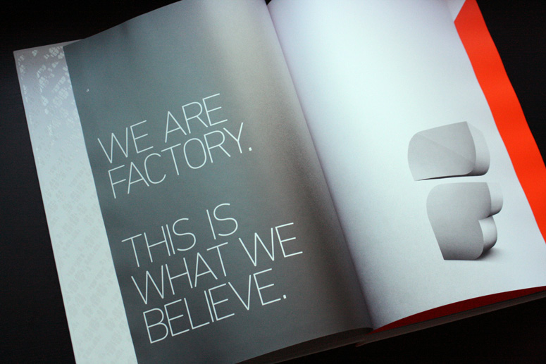 Factory Design Labs Portfolio Book Volume 10