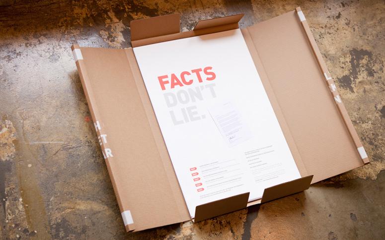 fpo   u0026quot facts don u0026 39 t lie u0026quot  poster package
