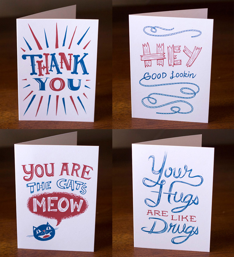 Familytree Illustrated Typography Love Notes