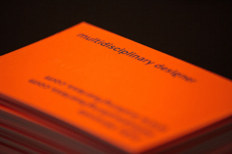 Walking Fearless Business Cards