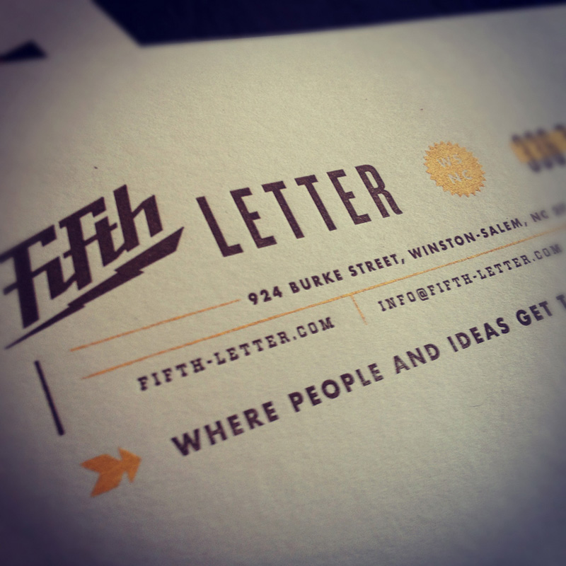Fifth Letter Outreach Card