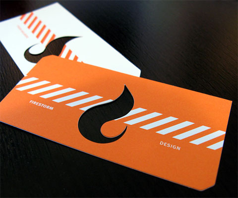 Firestorm Business Card