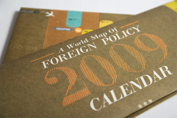Foreign Policy 2009 Calendar
