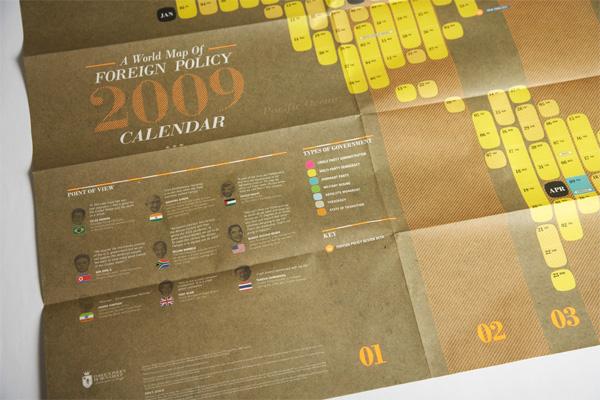 Foreign Policy 2009 Calendar