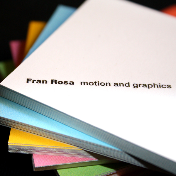 Fran Rosa Business Cards