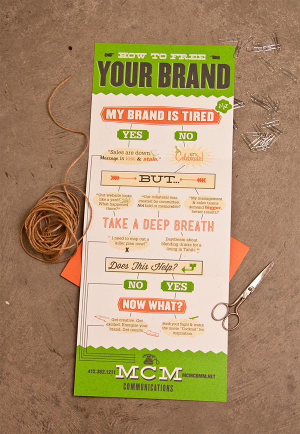 Free Your Brand Mailer