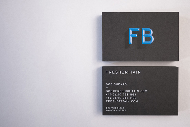 FreshBritain Business Card