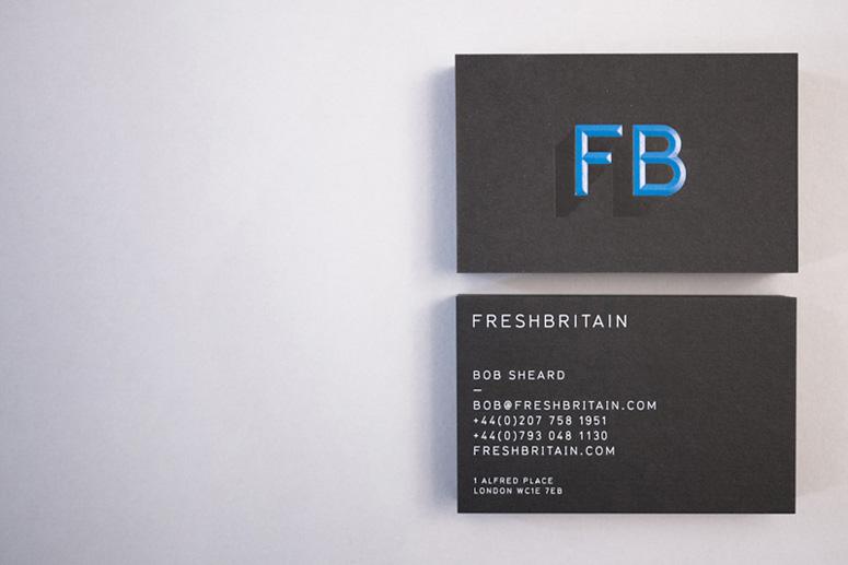 FreshBritain Business Card