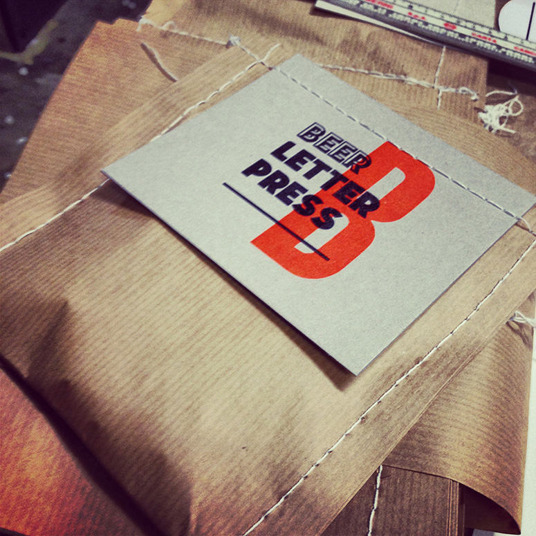 Freskiz Comunicate Letterpress Coasters: 2014 Edition