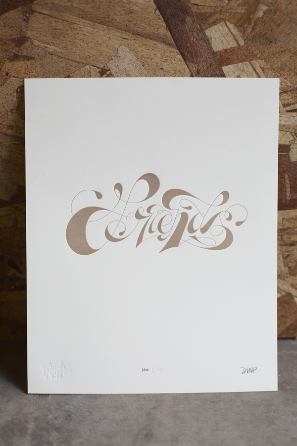 Friends of Type Posters