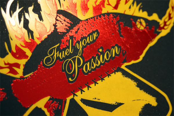 Fuel Your Passion Poster