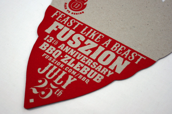 Fuszion 13th Anniversary BBQ Invitation