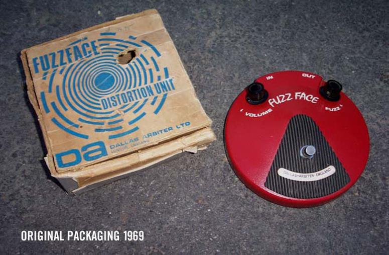Fuzz Face Mini Packaging