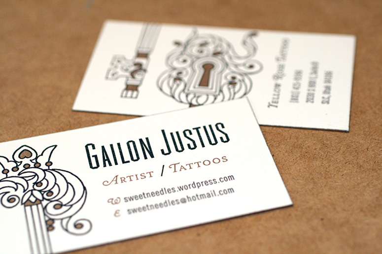 Gailon Justus Business Card