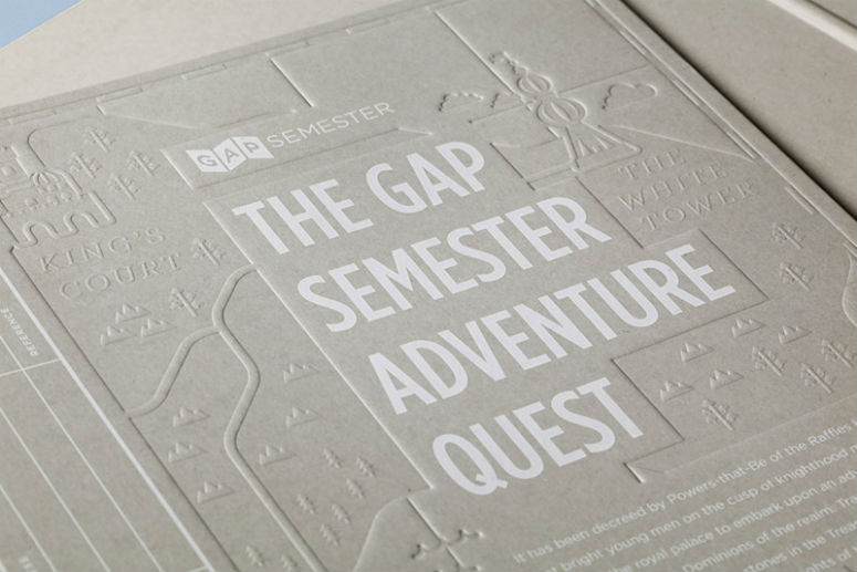 Gap Semester Adventure Quest Folder
