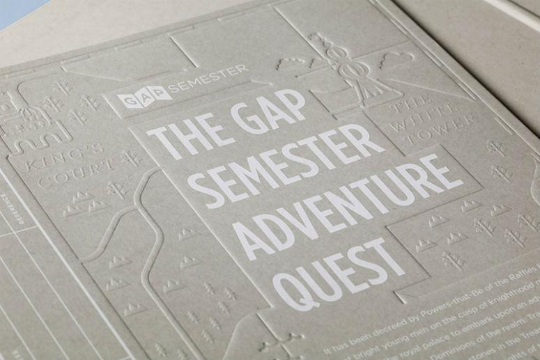 Gap Semester Adventure Quest Folder