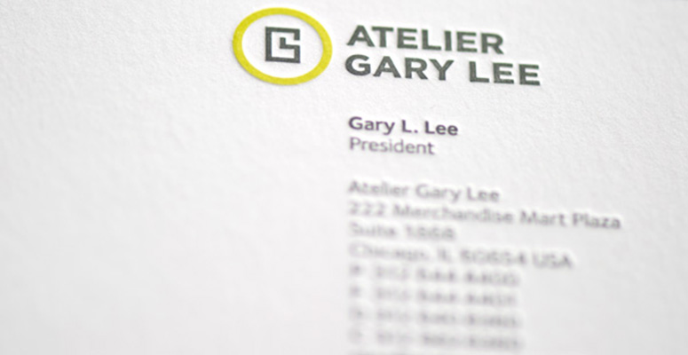 Atelier Gary Lee Stationery