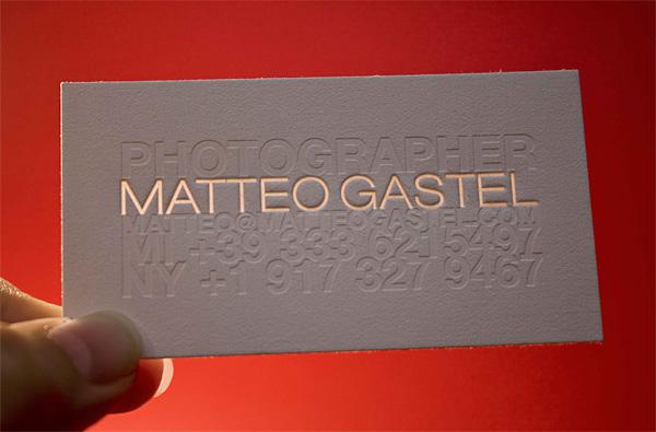 Matteo Gastel Business Card