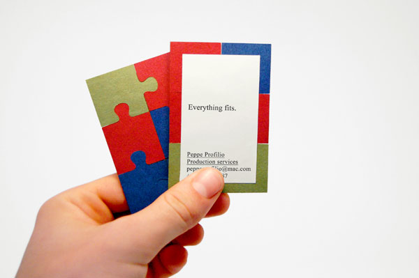 Well-known FPO: Giuseppe Profilio Business Cards NP75