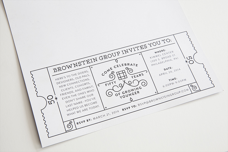 50th Wedding Anniversary Invitations 79 Lovely Brownstein Group th Anniversary