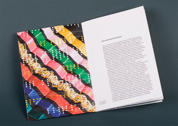 Gold and Silver Dots Exhibition Catalogue