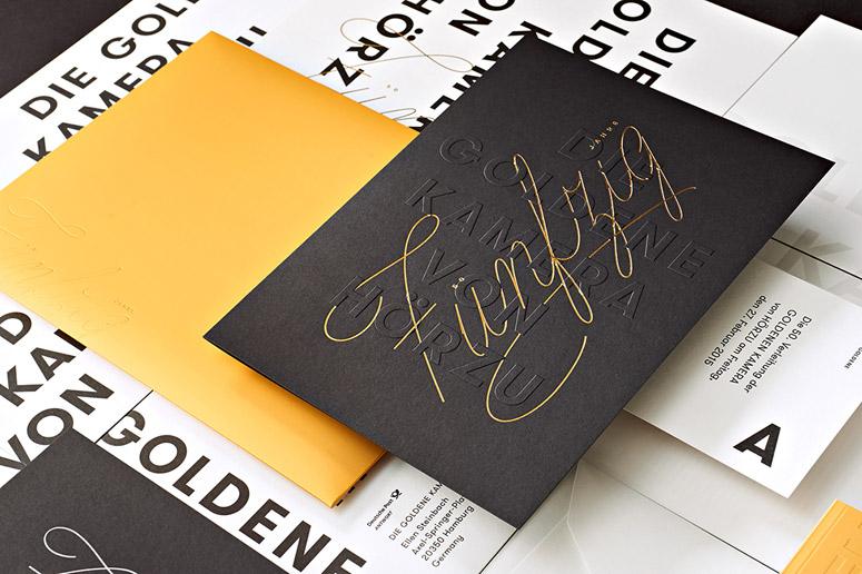 The Golden Camera 2015 Invitation