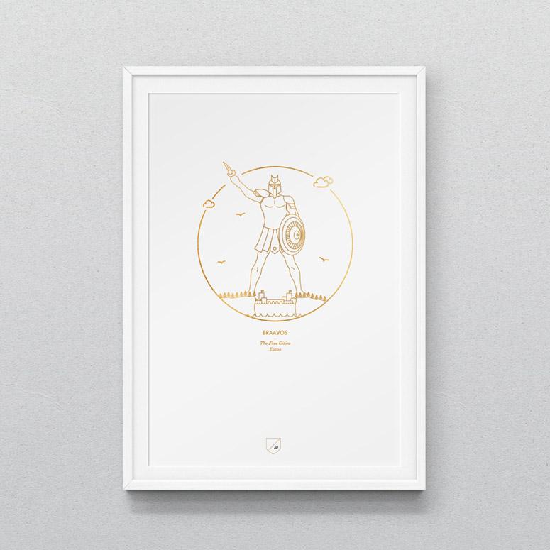 Game of Thrones Iconographic Prints