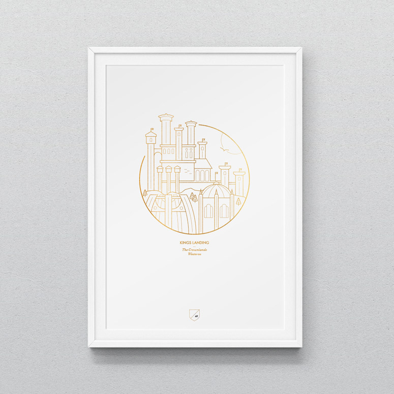 Game of Thrones Iconographic Prints