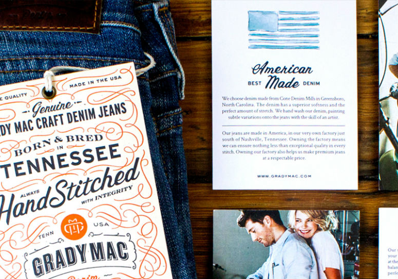 Grady Mac Denim Hangtags