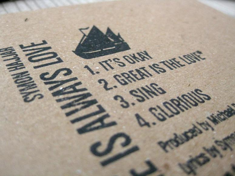 Symon Hajjar CD Packaging
