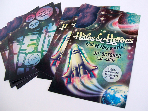 Halos and Heroes Promotional Materials