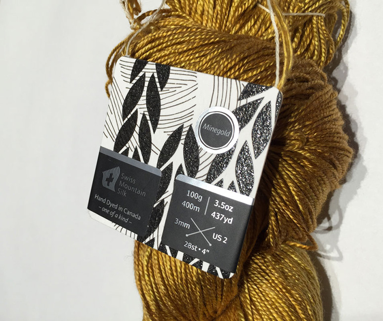 Handmaiden Fine Yarn Tags
