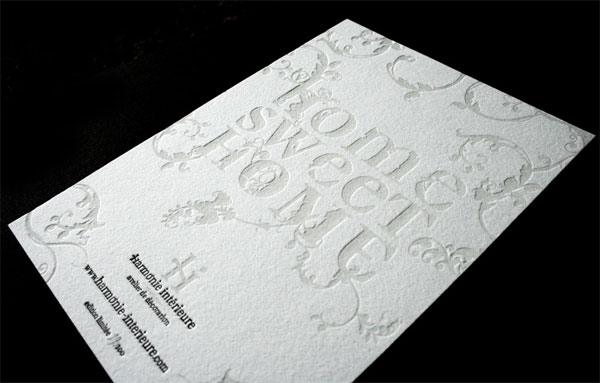 Harmonie Int�rieure Promo Card