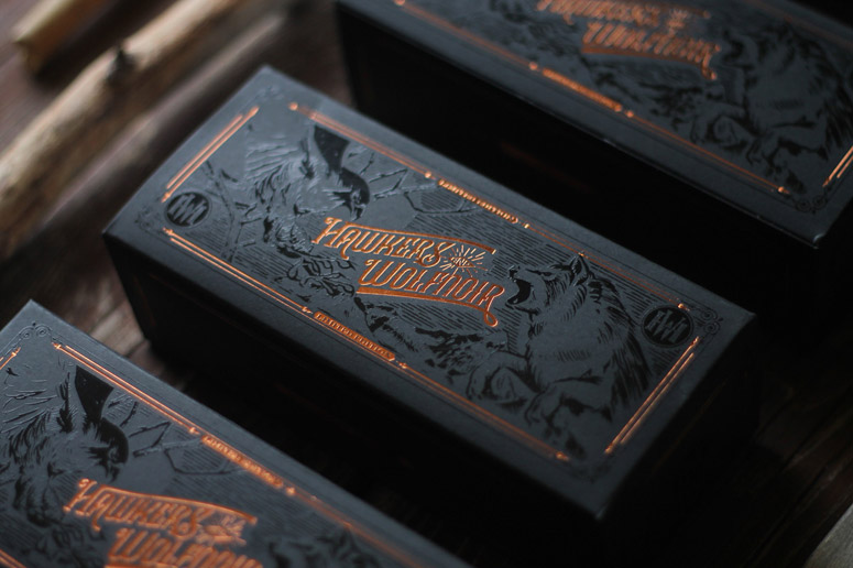 Hawkers & Wolfnoir Ltd. Edition Sunglasses Packaging