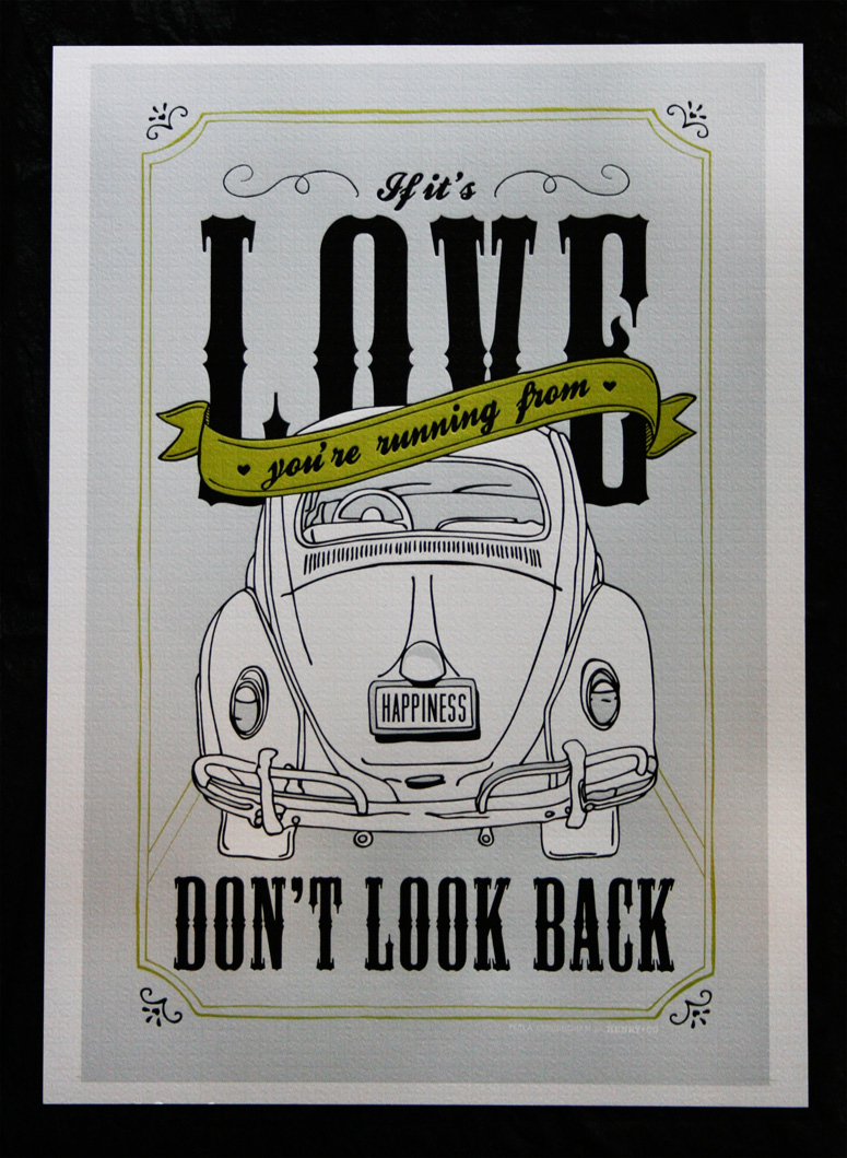 Henry & Company Vintage VW Poster