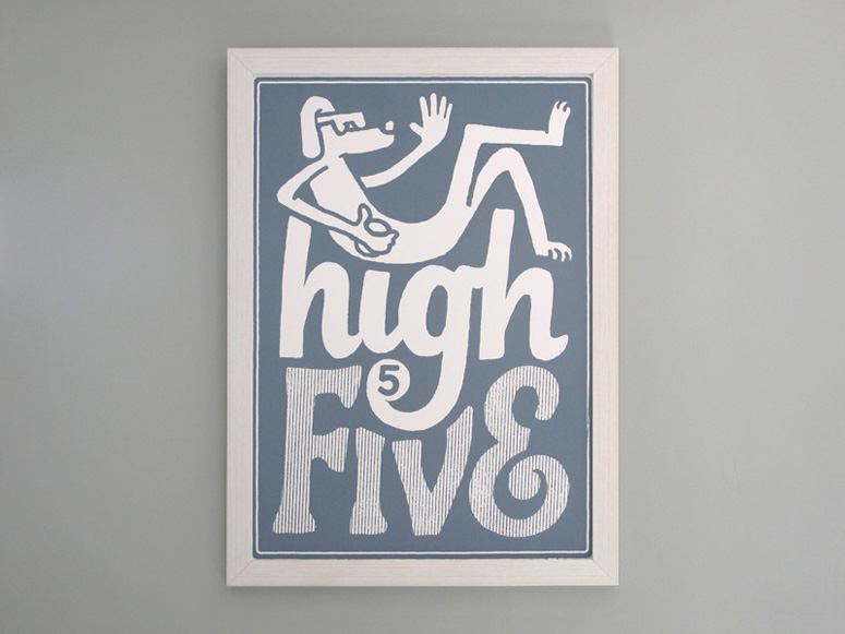 High 5 Poster Series