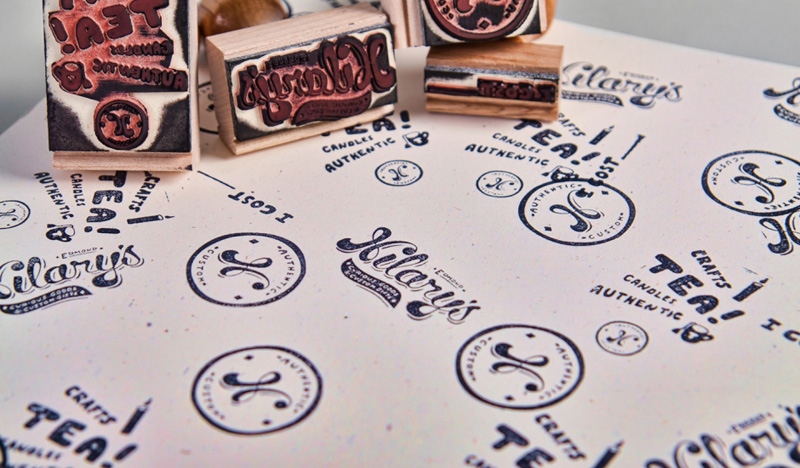 Hilary's Identity, Business Cards, and Tags