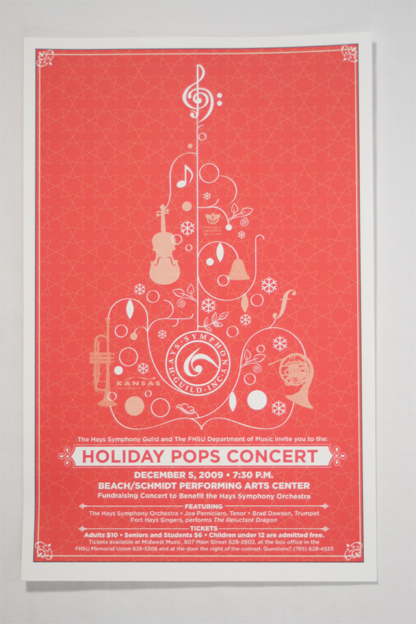 Holiday Pops Concert Poster